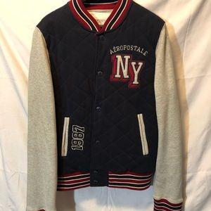 Aeropostale NY varsity sweater jacket. Size Large.